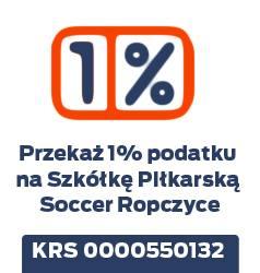 Przekaż jedne procent na Szkółkę Piłkarską Soccer Ropczyce
